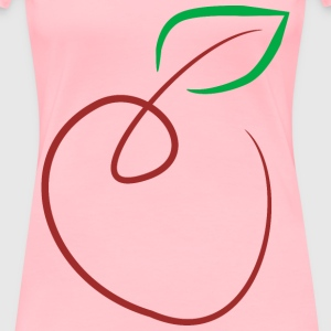 Apple (by donchico) - Women's Premium T-Shirt