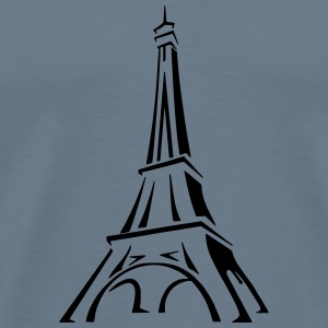 Eiffel Tower 2 - Men's Premium T-Shirt