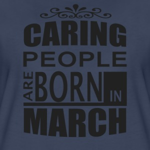 born in march T-Shirts - Women's Premium T-Shirt