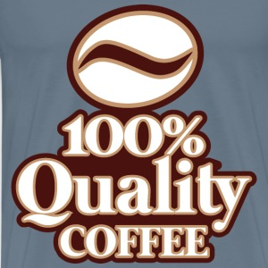 100% Quality COFFEE - Men's Premium T-Shirt