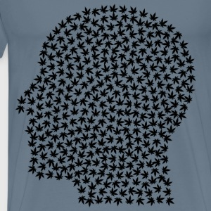 Pothead Black - Men's Premium T-Shirt
