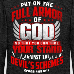 put on the full armor Men's Long Sleeve - Men's Premium Hoodie
