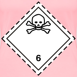 ADR pictogram 6.1Poison - Women's Premium T-Shirt