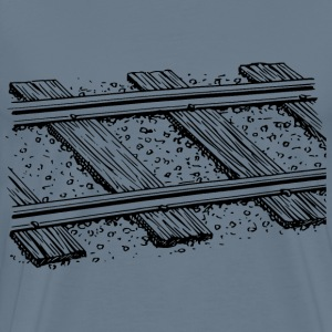 Railway track 3 - Men's Premium T-Shirt