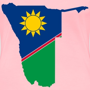 Namibia Flag Map - Women's Premium T-Shirt