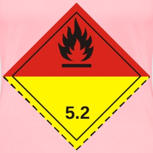 ADR pictogram 5.2Organic peroxides - Women's Premium T-Shirt