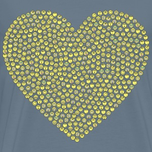 Emoticons Heart - Men's Premium T-Shirt