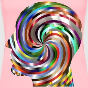 Hypnotic Head 6 - Women's Premium T-Shirt