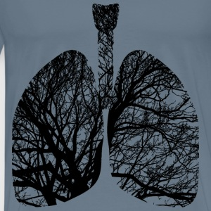 Lungs Branches - Men's Premium T-Shirt