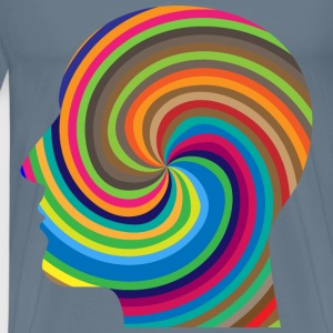 Hypnotic Head - Men's Premium T-Shirt