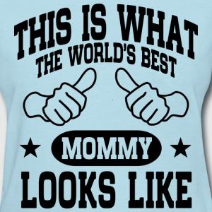 The World's Best Mommy T-Shirts - Women's T-Shirt