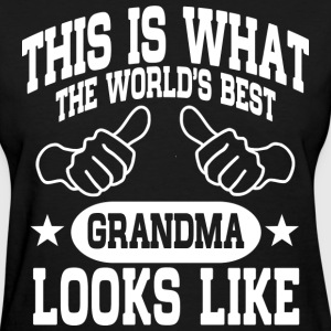 The World's Best Grandma T-Shirts - Women's T-Shirt