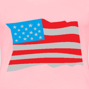 Flag - Women's Premium T-Shirt