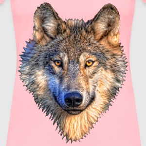 Wolf Head - Women's Premium T-Shirt