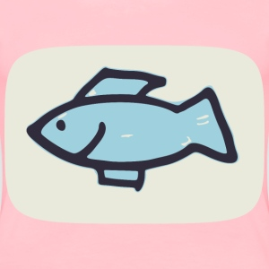 simple fish - Women's Premium T-Shirt