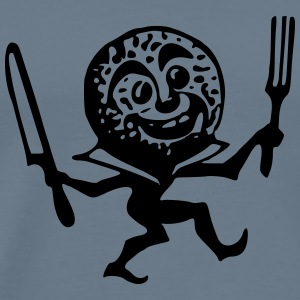 Freaky animated cookie - Men's Premium T-Shirt