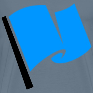 Racing Flag Blue - Men's Premium T-Shirt