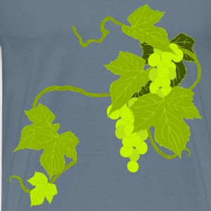 Grapes Illustration - Men's Premium T-Shirt
