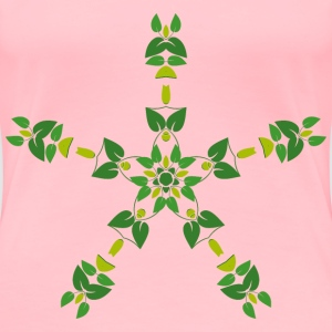 Leafy Design 3 - Women's Premium T-Shirt