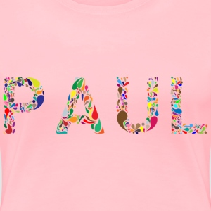 Paul Typography - Women's Premium T-Shirt