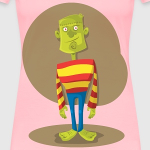 Frankenstein Monster - Women's Premium T-Shirt