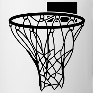Basketball or Netball hoop net Gift - Coffee/Tea Mug