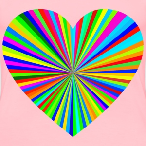 Starburst Heart 26 - Women's Premium T-Shirt