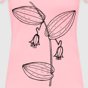 Claspingleaved twisted stalk - Women's Premium T-Shirt