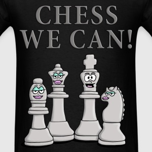 chess_we_can_04_2017_b T-Shirts - Men's T-Shirt