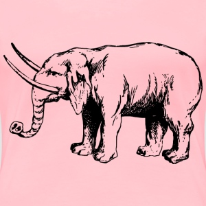 Elephant 4 - Women's Premium T-Shirt
