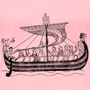 Ship from the time of William the Conqueror - Women's Premium T-Shirt