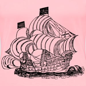 Drake s ship - Women's Premium T-Shirt