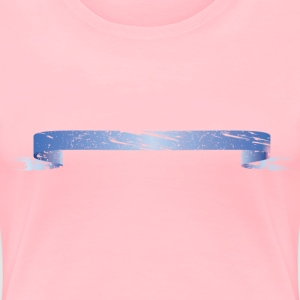 torn ribbon - Women's Premium T-Shirt