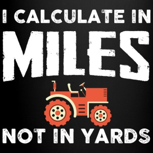 Farmer I calculate Mugs & Drinkware - Full Color Mug