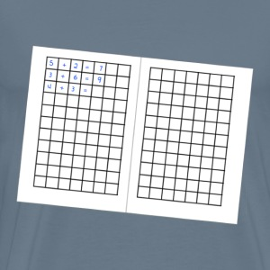 German Math Grid - Men's Premium T-Shirt