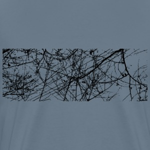 Nature Cables Found in China Sky - Men's Premium T-Shirt