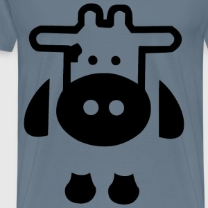 Calf Icon - Men's Premium T-Shirt