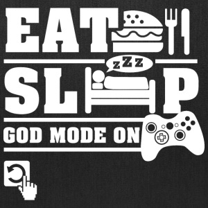 Gamer Eat Sleep Repeat Bags & backpacks - Tote Bag
