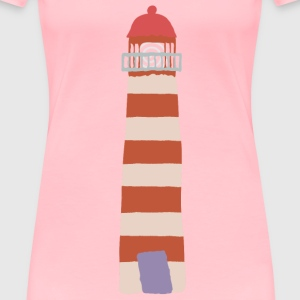 Crooked lighthouse 1 - Women's Premium T-Shirt
