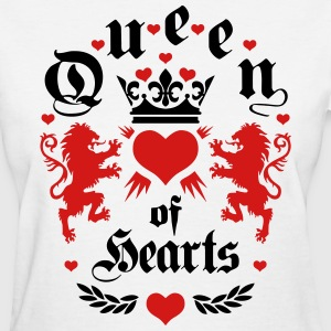 Queen of Hearts Lions Crown Queens Birthday T-Shir - Women's T-Shirt