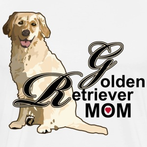 Golden Retriever Mom - Men's Premium T-Shirt