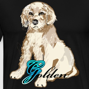 Golden Puppy - Men's Premium T-Shirt
