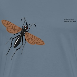 tarantual hawk wasp - Men's Premium T-Shirt