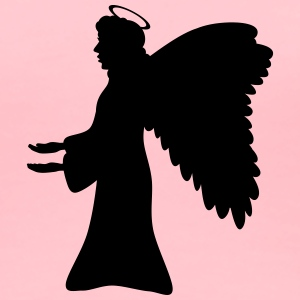 Angel s Silhouette - Women's Premium T-Shirt