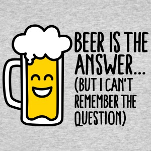 Beer is the answer but I can't remember the... T-Shirts - Men's 50/50 T-Shirt
