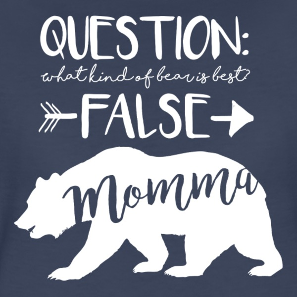 Momma Bear - Polar - Women's Premium T-Shirt