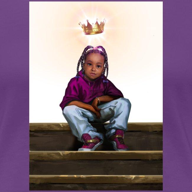 To Be A Queen (Women's Premium T-Shirt)
