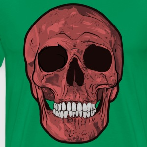 Skull Illustration - Men's Premium T-Shirt