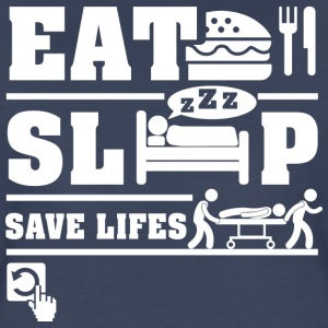Paramedics Eat Sleep T-Shirts - Women's Premium T-Shirt