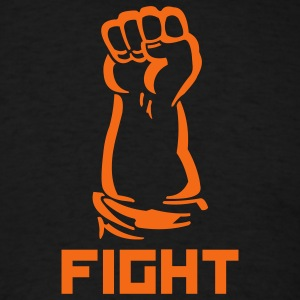 fight fist - Men's T-Shirt
